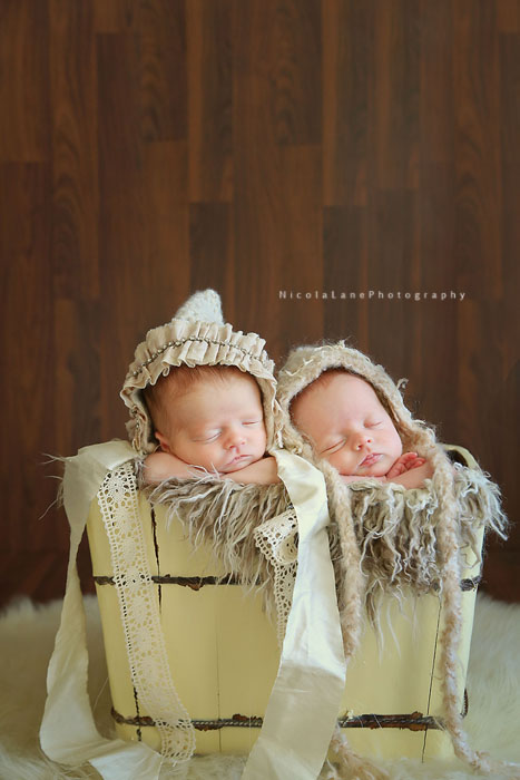 Raleigh Newborn Photographer, twins